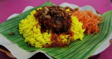 Nasi Kuning Taufik, Sarapan Favorit di Samarinda