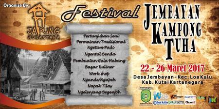 Festival Jembayan Kampong Tuha Membuka Tabir Misteri